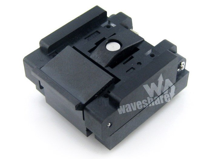 QFN20 MLP20 MLF20 QFN-20BT-0.5-01 QFN Enplas IC Test Socket Adapter 0.5mm Pitch Free Shipping