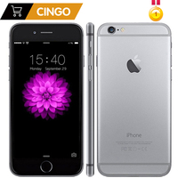 Разблокированный оригинальный Apple iPhone 6 Plus 16/64/128GB rom 1GB ram IOS двухъядерный 8MP/Pixel 4G LTE мобильный телефон