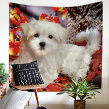JaneYU 2019 New Arrived Pet Dog Nordic Velvet Multifunctional Polyester Tapestry Hanging Beach Towel