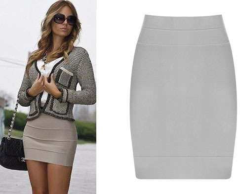 Online Get Cheap Short Grey Skirt -Aliexpress.com | Alibaba Group