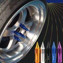 20 unids Car Wheel Lug Nut M12 * 1.5 Pinchos de Aluminio Ampliado De Alta Resistencia Y Dureza