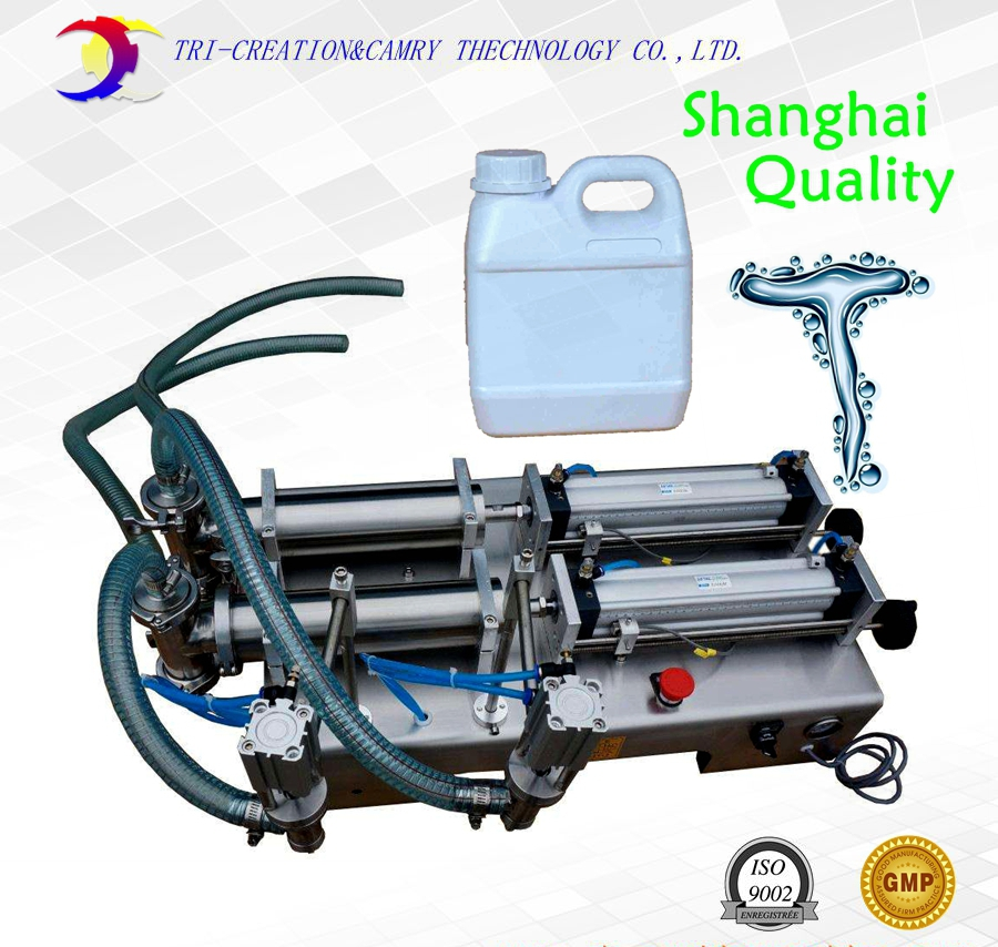 semi automatic liquid filling machine,1L 2 head 316L liquid/sauce filling machine_pneumatic piston filler 50 500ml double head pneumatic liquid shampoo filling machine semi automatic pneumatic filling machine