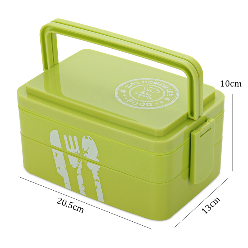 TUUTH Healthy Portable Lunch Box Multi-layer Microwave Heating Bento Boxes High Capacity Food Container Dinner Lunchbox Cutlery6
