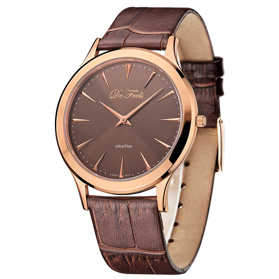 Ultra Thin Mens Simple Watch Classic Sapphire Glass Men Watches Saat Business Stainless Steel Male Clock Wrist Watches De Feels