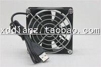 셋톱 박스 라우터 8 센치메터 8025 초박형 5V12V24V USB 자동 팬 80 미리메터 90 미리메터 120 미리메터