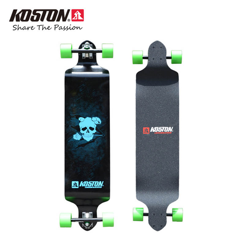 Koston Professional Drop Down Long board Completes Zero Downhill Racing Skateboard 41inch 9ply Canada Maple Laminated Skateboard