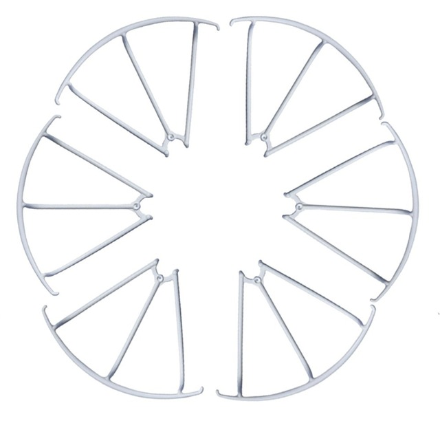 F15261 /62 X600 RC Drone Spare Parts: 3 Pairs Propeller Guard Bumper Protectors for MJX Hexacopter 6 axis Gyro UAV