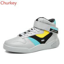 Fashion Casual Shoes Comfortable Men's Shoes Ankle Outdoor High Top Canvas Flats Walking Shoe Street Dance basket