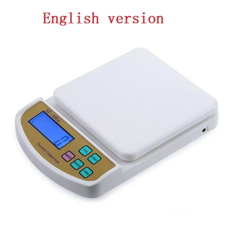 Весы Кухонные цифровые, 2/5/10 кг, 1/0,1 г-1