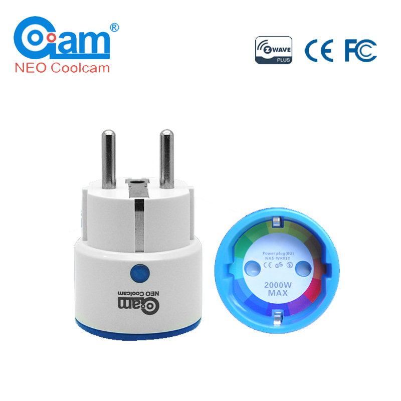 NEO COOLCAM NAS-WR01ZE Z Wave Plus Sensor Smart Home EU Power Plug Z-Wave Repeater Extender Outlet Plug Automation Alarm System