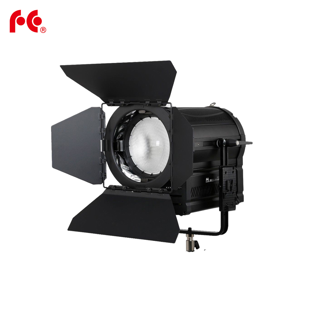 Falcon Eyes 160W LED Fresnel Light DLL-1600TDX Ra95 3000K-8000K DMX V-lock Plate осветитель falcon eyes lhpat 15 1