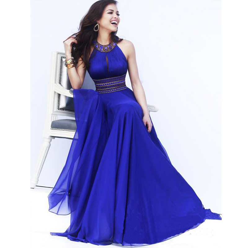 Online Get Cheap Long Dresses For Wedding Guests