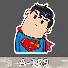A-189 Super Man Wasserdicht Mode Kühle DIY Aufkleber Für Laptop Gepäck Skateboard Kühlschrank Auto Graffiti Cartoon Aufkleber