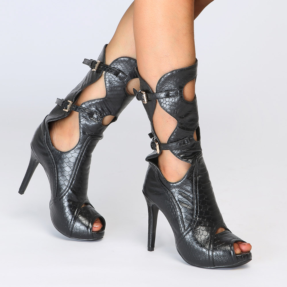 DoraTasia brand new plus size 34 47 more colors customized sexy party boots women Shoes Woman