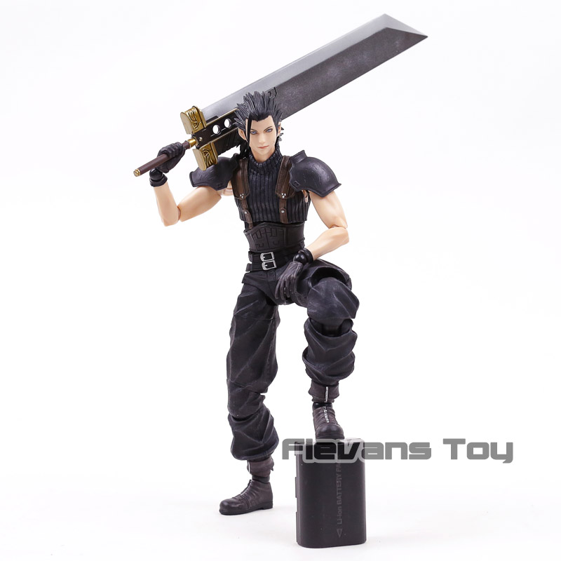 Square Enix Play Arts Kai Crisis Core Final Fantasy VII Zack Fair PVC Action Figure Collectible Model Toy mks gen l v1 0 integrated controller pcb board reprap ramps 1 4 support a4988 drv8825 tmc2208 tmc2130 driver for 3d printer