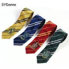 SYDanne Hermione Necktie Ties Cosplay Costumes Gryffindor Sl
