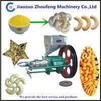 Puffed corn rice snacks food extruder snacks machine ZF