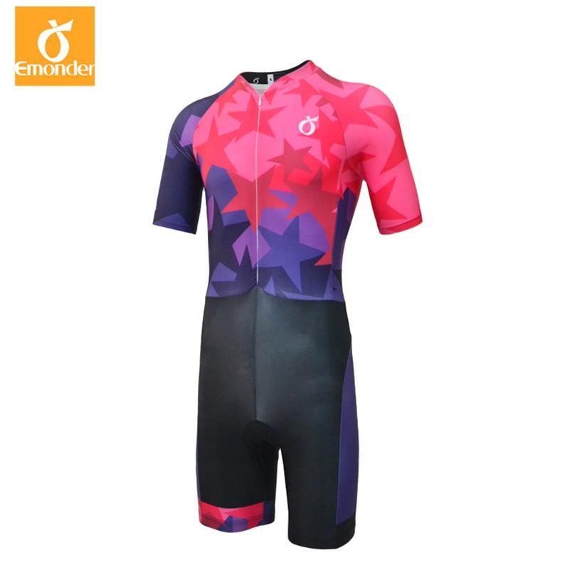 Haute qualité 2019 unisexe cyclisme Skinsuit hommes Triathlon sport vêtements cyclisme vêtements Ropa De Ciclismo Maillot