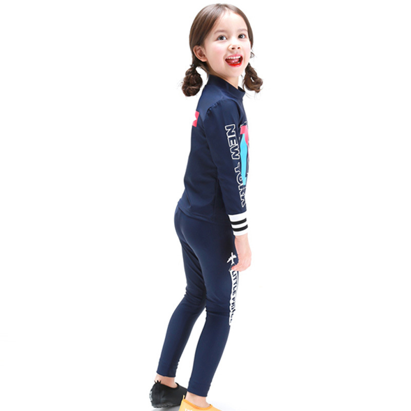 Swimwear Girl Children Girls Bikini Swimsuit ChildrenS 2018 Baby Long Sleeve Trousers Korean Badpak Meisje Zwempak Kinder