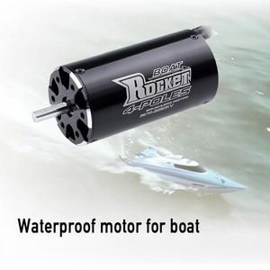 Image 3 - Motor sin escobillas SURPASSHOBBY Rocket 3670 2280KV 1850KV 4P para Traxxas M41 catamarán Spartan 800mm 1000mm RC barco Coche
