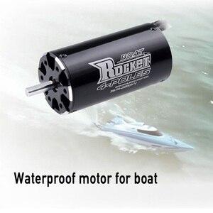 Image 3 - Surpashobby fusée 3670, 2280KV 1850KV, moteur sans balais 4P, pour voiture de bateau RC Traxxas M41, Catamaran Spartan, 800mm 1000mm