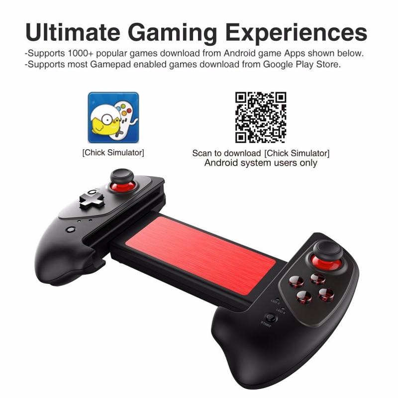 IPEGA PG-9083 Bluetooth 3.0 manette de jeu sans fil pour Android/iOS manette de jeu rétractable pratique manette rétractable - 2