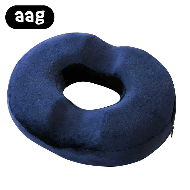 aag donut seat cushion ring pillow orthopedic car office couch chair bottom massage pad health care soft sitting pillow cushion