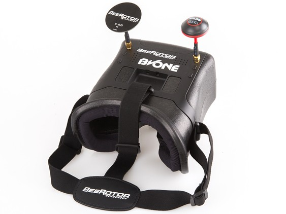 BVONE Beerotor superme-light FPV Diversity VR Goggles 5.8G 40CH Built-in 5 LCD