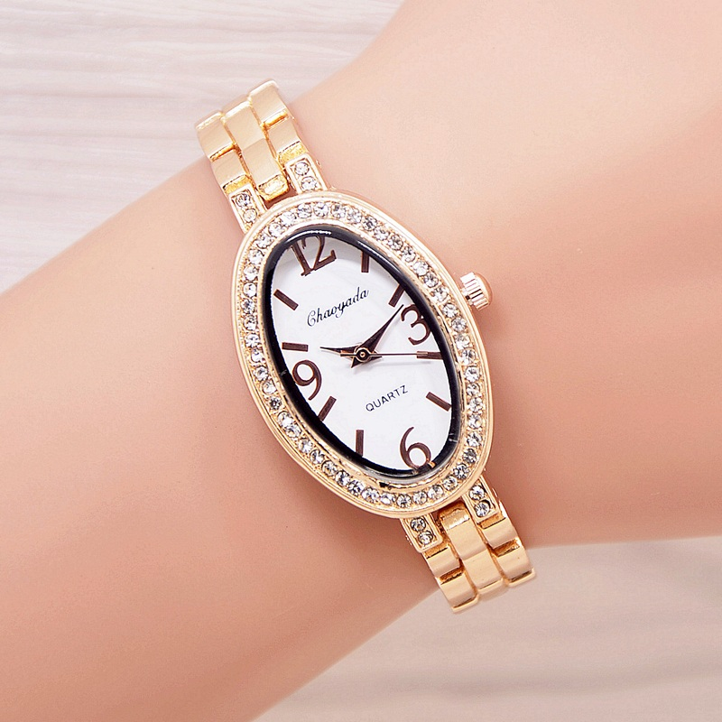 2017 Fashion Women's Bracelet Watch Women Ladies Wrist Watches Bling Crystal Analog Clock Woman Dress Quartz Watch Montre Femme newly design dress ladies watches women leather analog clock women hour quartz wrist watch montre femme saat erkekler hot sale