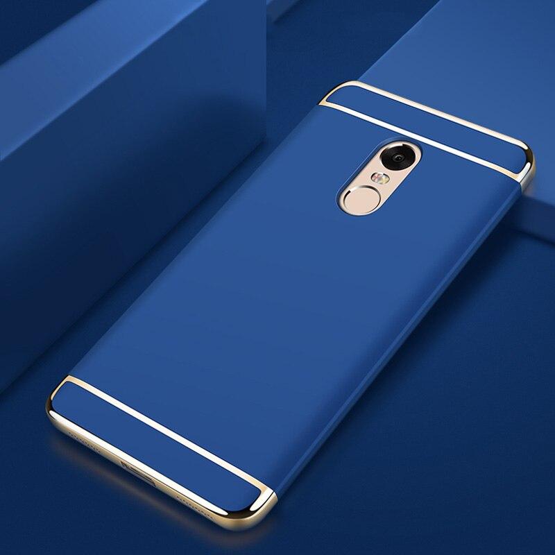 Xiaomi Redmi Note 4X Case 3 in 1 Luxury Ultra Thin Coque - Բջջային հեռախոսի պարագաներ և պահեստամասեր - Լուսանկար 3