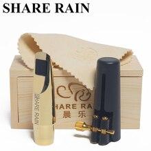 SHARE RAIN, reparación hecha a mano, Eb saxofpone, boquilla de metal, copia Rovner/saxofón alto, boquilla de metal