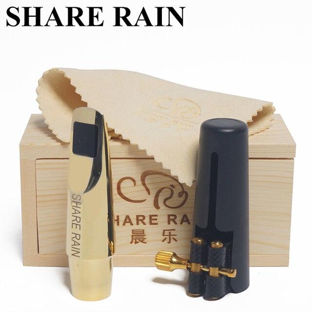 Udostępnij deszcz ręcznie naprawa Eb saksofon altowy metalowy ustnik kopia Rovner/metalowy ustnik altowy