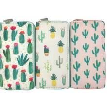 Kandra summer new cactus long wallet women necessary clutch