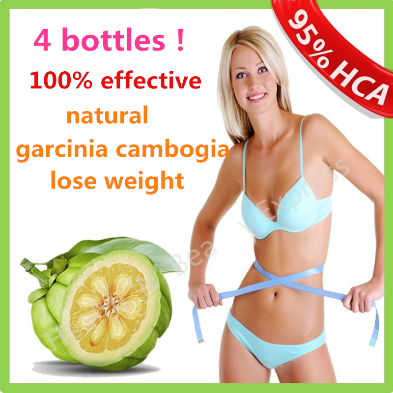 4 copies Pure Garcinia cambogia extract weight loss effective Burn Fat 95% HCA 240pcs for women & men 2 bottles 120 pcs pure garcinia cambogia extracts weight loss 95% hca 100% effective for slimming supplement