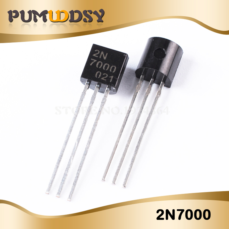 20PCS 2N7000 N-Channel MOSFET TO-92 New Products And ROHS IC