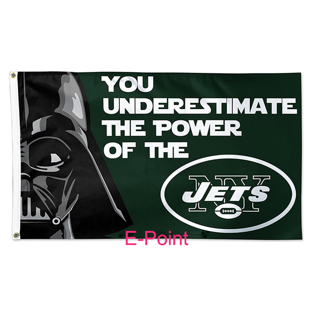new york jets 3ft5ft 90150cm size christmas decorations for home