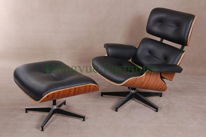 Genuine Leather Lounge Chairs Set Furniture Livingroom Furniture