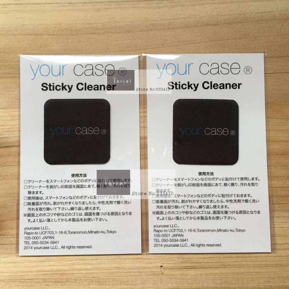 200pcsLot 32*29mm OEM customized design microfiber mobile phone sticky screen cleaner by DHL express