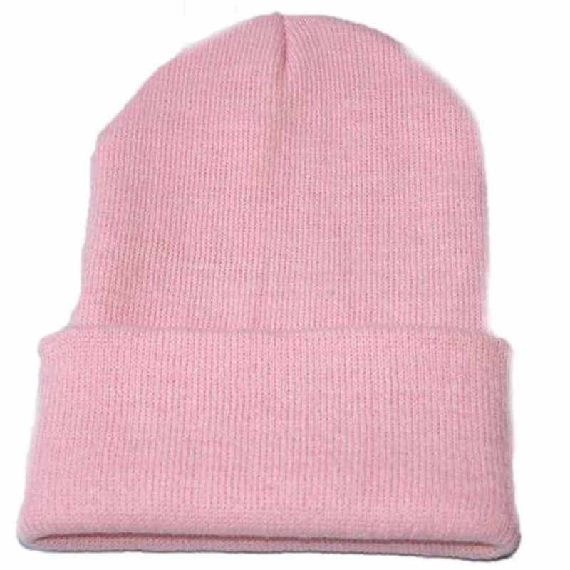 Unisex Slouchy Knitting Beanie Hip Hop Cap Warm Winter Ski hats & caps men winter hats for women bonnet femme gorras para hombre