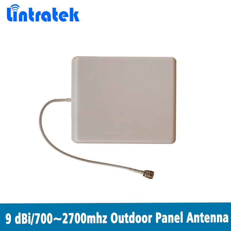 700~2700Mhz Water-proof Outdoor Panel Antenna Wall Installation Outdoor Antenna For  2G 3G 4G Mobile Signal Booster @7