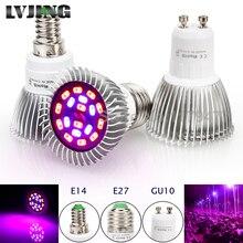 LED Grow Light 18W E14 E27