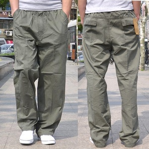Image 2 - Autunno inverno Uomo cargo pants plus size safari di tasca di stile pantaloni di spessore 6XL 7XL 8XL fuori porta pantaloni diritti allentati pantaloni army green 48