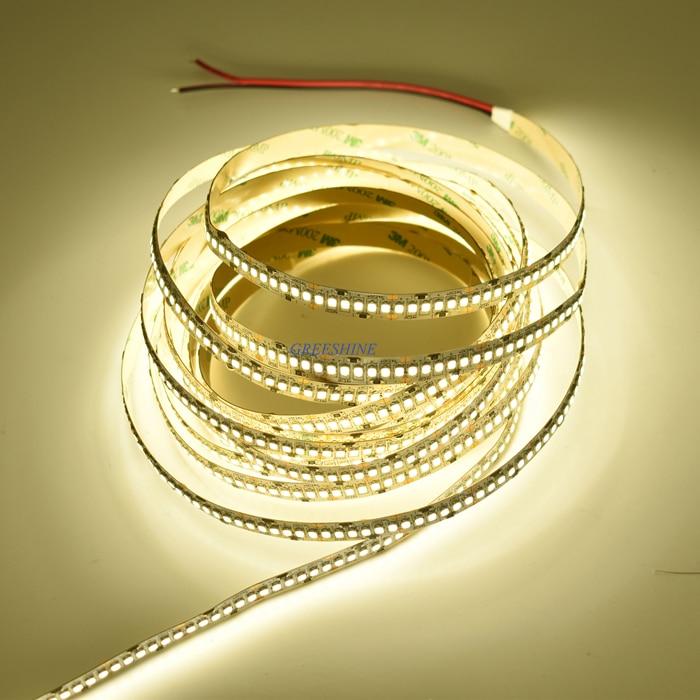 22-24LM/led Super Bright 24V 36W 2835 LED Strip 240 led Flexible light Tape 5M Per Reel showcase led strip Freeshipping 30M/lot