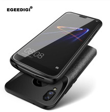 Silicone shockproof Battery Charger Case For Huawei Mate20Pro Honor 8X 10 Lite 8 9 Cases Charging Back Cover External Power Bank