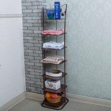 Continental trumpet multilayer mini shoe rack simple low- budget hostel iron dust storage