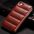 For Vintage Hard Case For  iPhone 5s 6 6s 7 PU Leather Back Plastic Frame Mobile Phone Back Cover Sofa New 2016