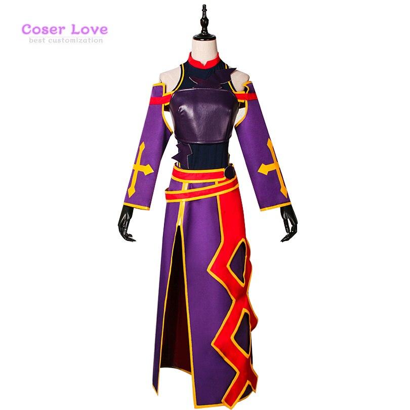Sword Art Online Konno Yuuki Cosplay Carnaval Costume ...