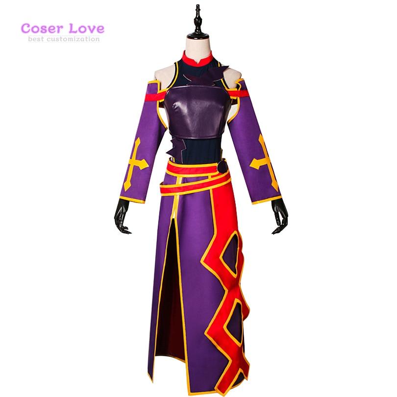 Sword Art Online Konno Yuuki Cosplay Costume Carnaval Halloween Costume Christmas