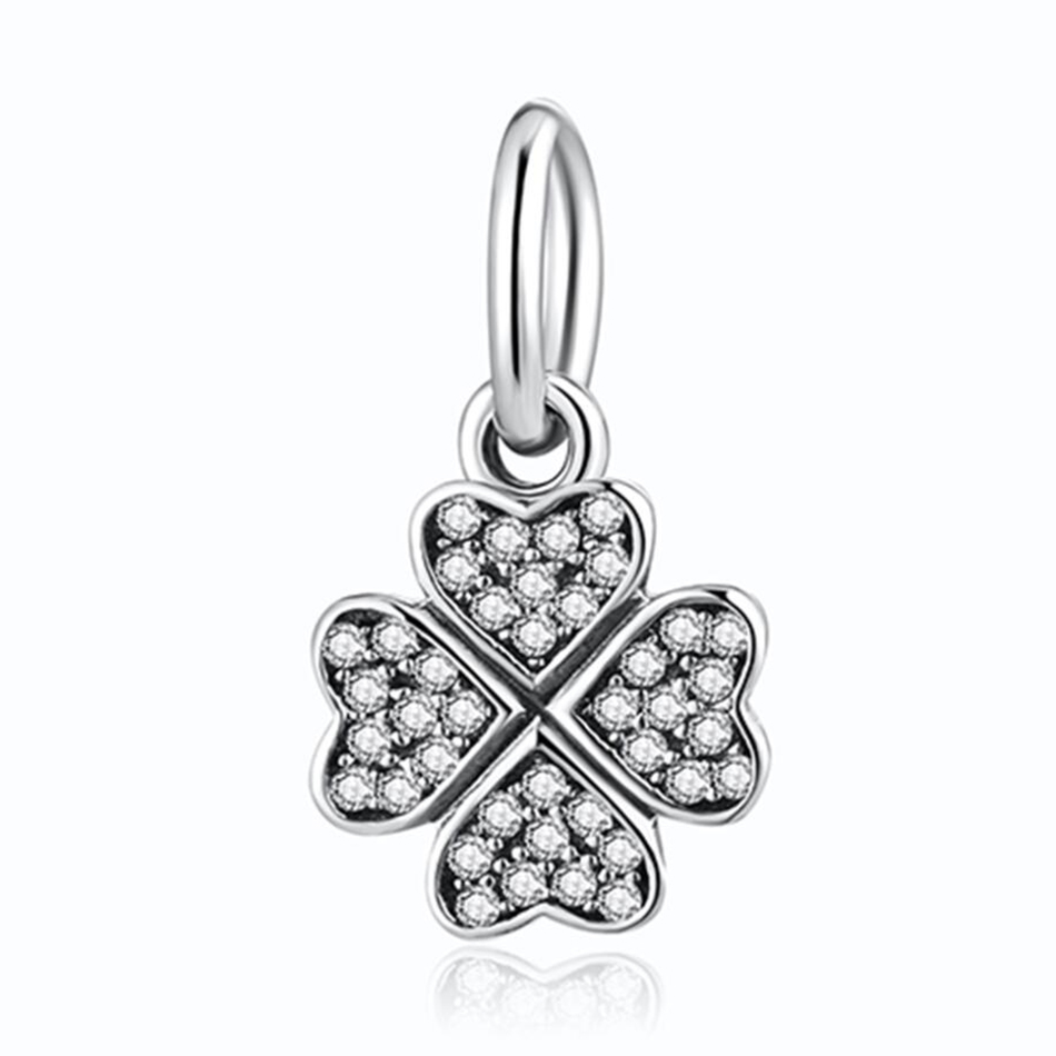 Crystal Symbol Of Protection Faith Cross Lucky Infinity Pendant
