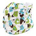 Pañales lavables 2016 Marca Patrón Animal Recién Nacido Del Bebé Pañales Reutilizables Del Pañal Del Bebé Pañal de Tela De Bambú de Terciopelo Amueblada YD013